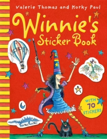 Winnie's Sticker Book, Mixed media product Book
