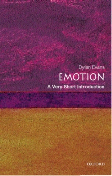 Emotion: A Very Short Introduction, Paperback / softback Book