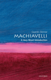 Machiavelli: A Very Short Introduction, Paperback / softback Book