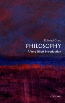 Philosophy: A Very Short Introduction, Paperback Book