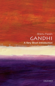 Gandhi: A Very Short Introduction, Paperback / softback Book