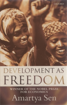 Development as Freedom, Paperback Book