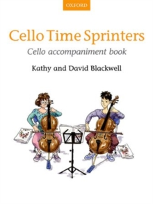 Cello Time Sprinters Cello Accompaniment Book, Sheet music Book