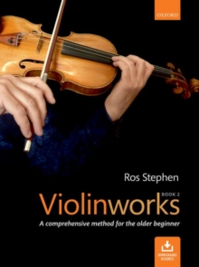 Violinworks Book 2 + CD, Sheet music Book