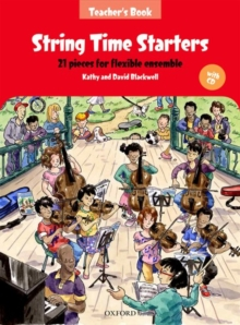 String Time Starters : 21 pieces for flexible ensemble, Mixed media product Book