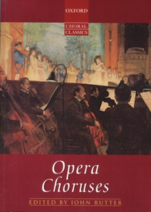 Opera Choruses, Sheet music Book