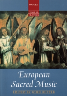 European Sacred Music, Sheet music Book