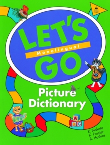 Let's Go Picture Dictionary: Monolingual English Edition, Paperback Book