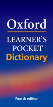 Oxford Learner's Pocket Dictionary : A pocket-sized reference to English vocabulary, Paperback / softback Book