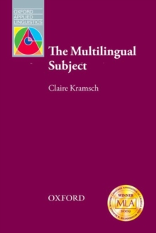 The Multilingual Subject, Paperback Book