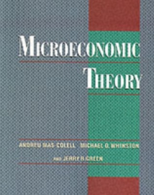 Microeconomic Theory, Paperback / softback Book