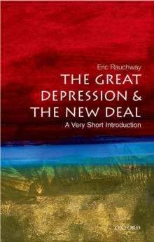 The Great Depression and New Deal: A Very Short Introduction, Paperback Book