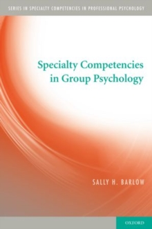 Specialty Competencies in Group Psychology, Paperback Book