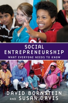 Social Entrepreneurship : What Everyone Needs to Know (R), Paperback Book