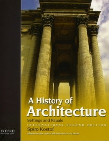A History of Architecture : International Second Edition, Paperback / softback Book
