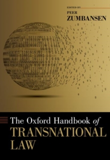The Oxford Handbook of Transnational Law, Hardback Book