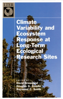 Climate Variability and Ecosystem Response at Long-Term Ecological Research Sites, PDF eBook