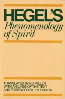 Phenomenology of Spirit, Paperback / softback Book