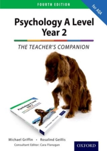 The Complete Companions: Year 2 Teacher's Companion for AQA Psychology, Paperback Book