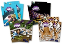 Project X CODE Extra: Green Book Band, Oxford Level 5: Jungle Trail and Shark Dive, Class pack of 12, Multiple copy pack Book