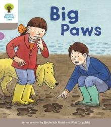 Oxford Reading Tree Biff, Chip and Kipper Stories Decode and Develop: Level 1: Big Paws, Paperback / softback Book