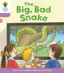 Oxford Reading Tree Biff, Chip and Kipper Stories Decode and Develop: Level 1+: The Big, Bad Snake, Paperback Book
