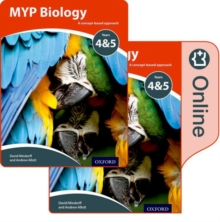 MYP Biology: a Concept Based Approach: Print and Online Pack, Mixed media product Book