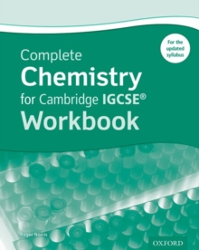 Complete Chemistry for Cambridge IGCSE (R) Workbook, Paperback / softback Book
