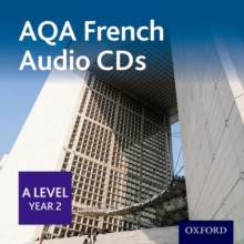 AQA A Level Year 2 French Audio CD Pack, CD-Audio Book