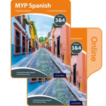 MYP Spanish Language Acquisition Print and Online Student Book Pack Phases 3 & 4, Mixed media product Book