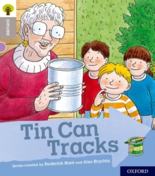 Oxford Reading Tree Explore with Biff, Chip and Kipper: Oxford Level 1: Tin Can Tracks, Paperback / softback Book