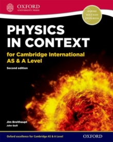 Physics in Context for Cambridge International AS & A Level, Mixed media product Book