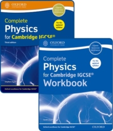 Complete Physics for Cambridge IGCSE (R) Student Book and Workbook Pack, Mixed media product Book