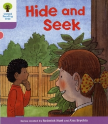 Oxford Reading Tree: Level 1+: First Sentences: Hide and Seek, Paperback / softback Book