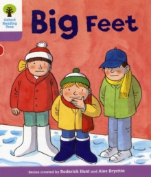 Oxford Reading Tree: Level 1+: First Sentences: Big Feet, Paperback / softback Book