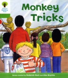 Oxford Reading Tree: Level 2: Patterned Stories: Monkey Tricks, Paperback / softback Book