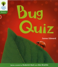 Oxford Reading Tree: Level 2: Floppy's Phonics Non-Fiction: Bug Quiz, Paperback / softback Book
