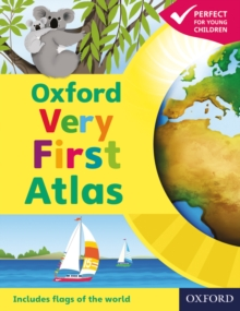 Oxford Very First Atlas, Paperback / softback Book