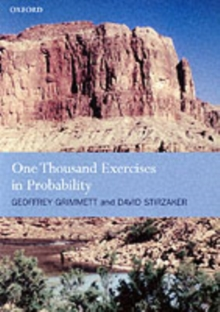 One Thousand Exercises in Probability, Paperback / softback Book