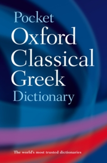 The Pocket Oxford Classical Greek Dictionary, Paperback Book
