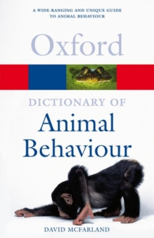 A Dictionary of Animal Behaviour, Paperback Book