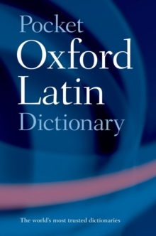 Pocket Oxford Latin Dictionary, Paperback Book