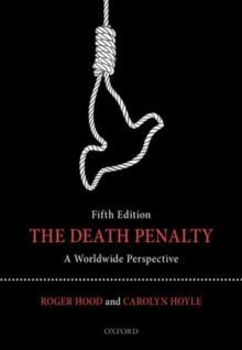 The Death Penalty : A Worldwide Perspective, Paperback Book