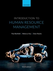 Introduction to Human Resource Management, Paperback / softback Book