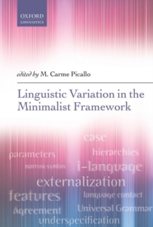 Linguistic Variation in the Minimalist Framework, Hardback Book