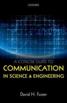 A Concise Guide to Communication in Science and Engineering, Hardback Book