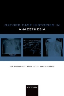 Oxford Case Histories in Anaesthesia, Paperback Book