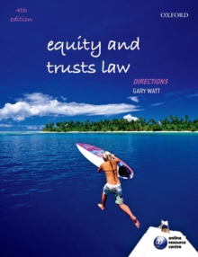 Equity and Trusts Law Directions, Paperback Book