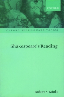 Shakespeare's Reading, Paperback / softback Book