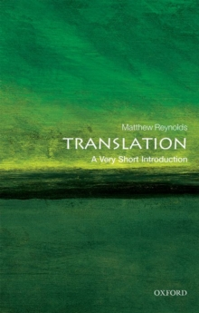 Translation: A Very Short Introduction, Paperback / softback Book